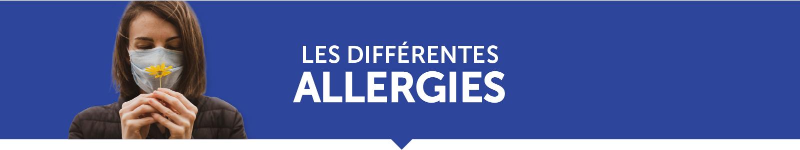Les différentes allergies